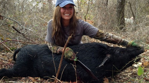 Hog Hunting Hottie Sarah Flanagan