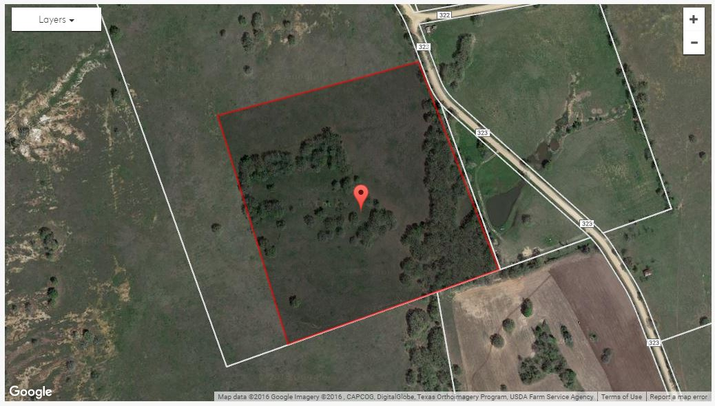Land for Sale in Milam County, Rockdale, Texas