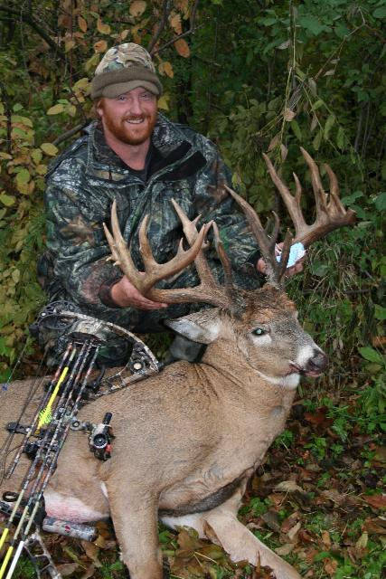 Camp Ripley produces another monster whitetail