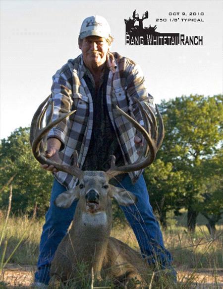 Big Hill Country Buck from Fredricksburg - 250 1/8