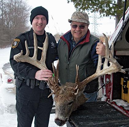 Michigan Non-Typical Record Buck - Biggest Buck Ever!