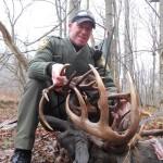 Fighting Bucks Lock Antlers in Ohio