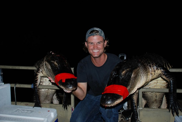 Alligator hunting in Florida